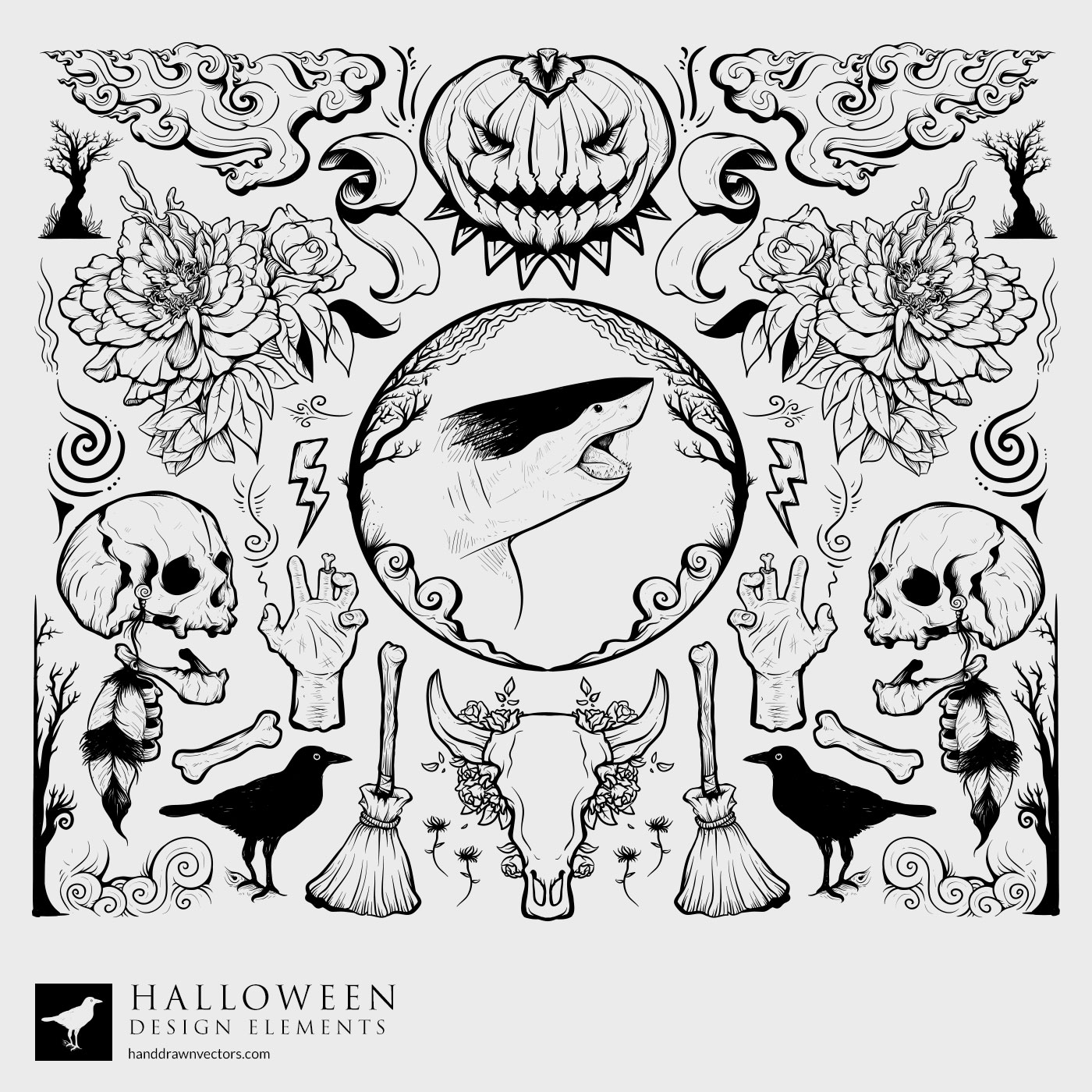 Halloween Collection Vector