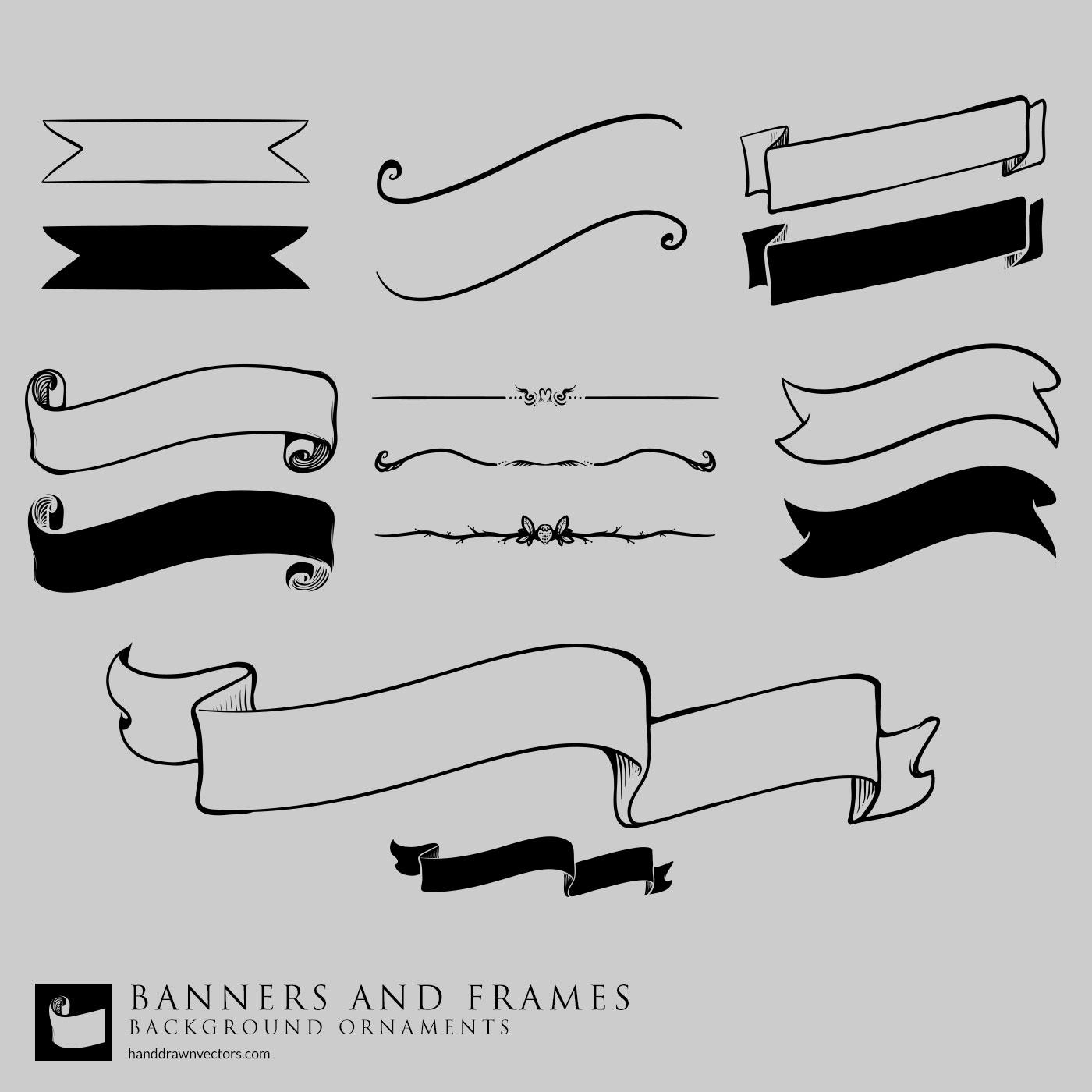 banners vectors