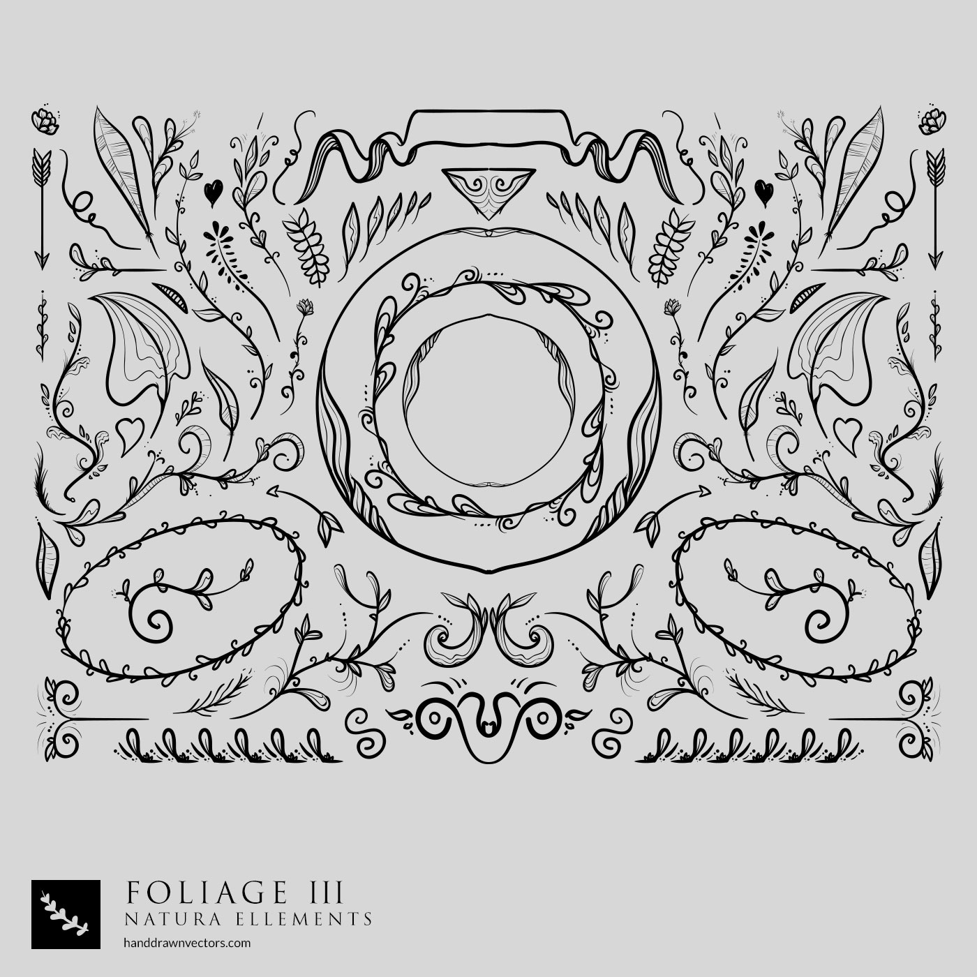 Foliage Collection Vector