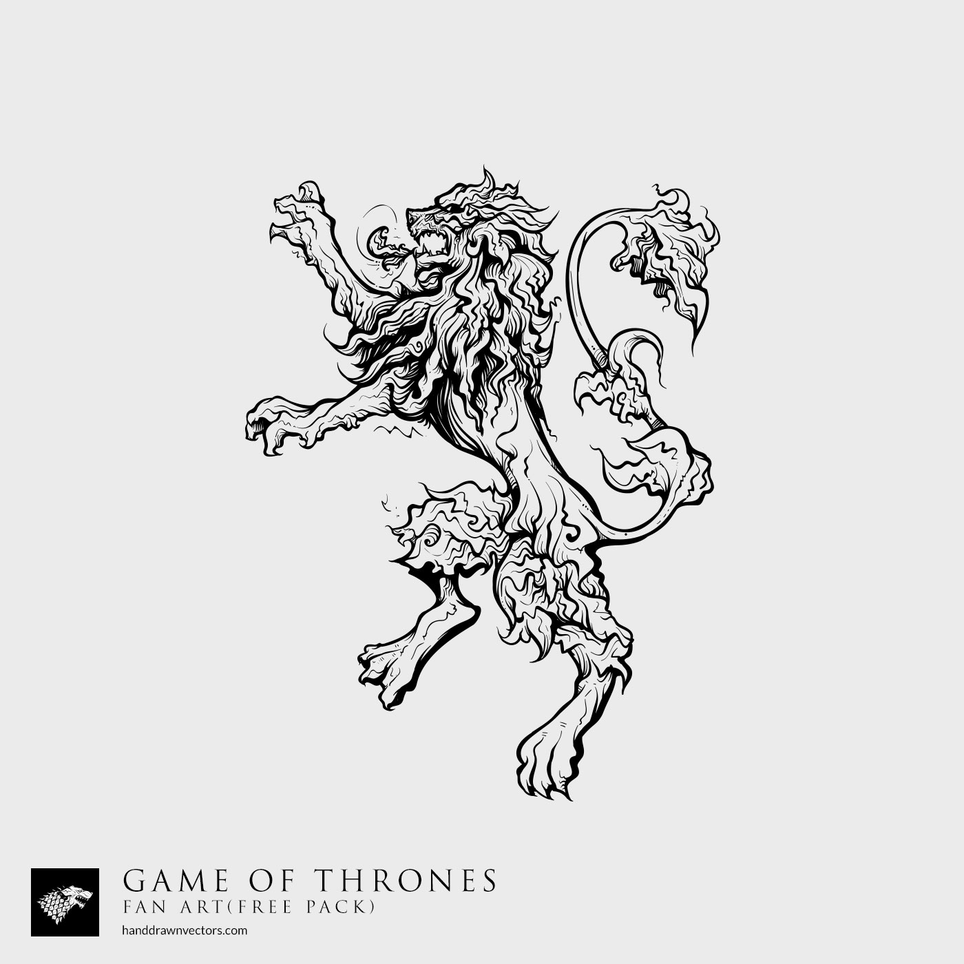 House Lannister Sigil Vector | www.imgkid.com - The Image ...