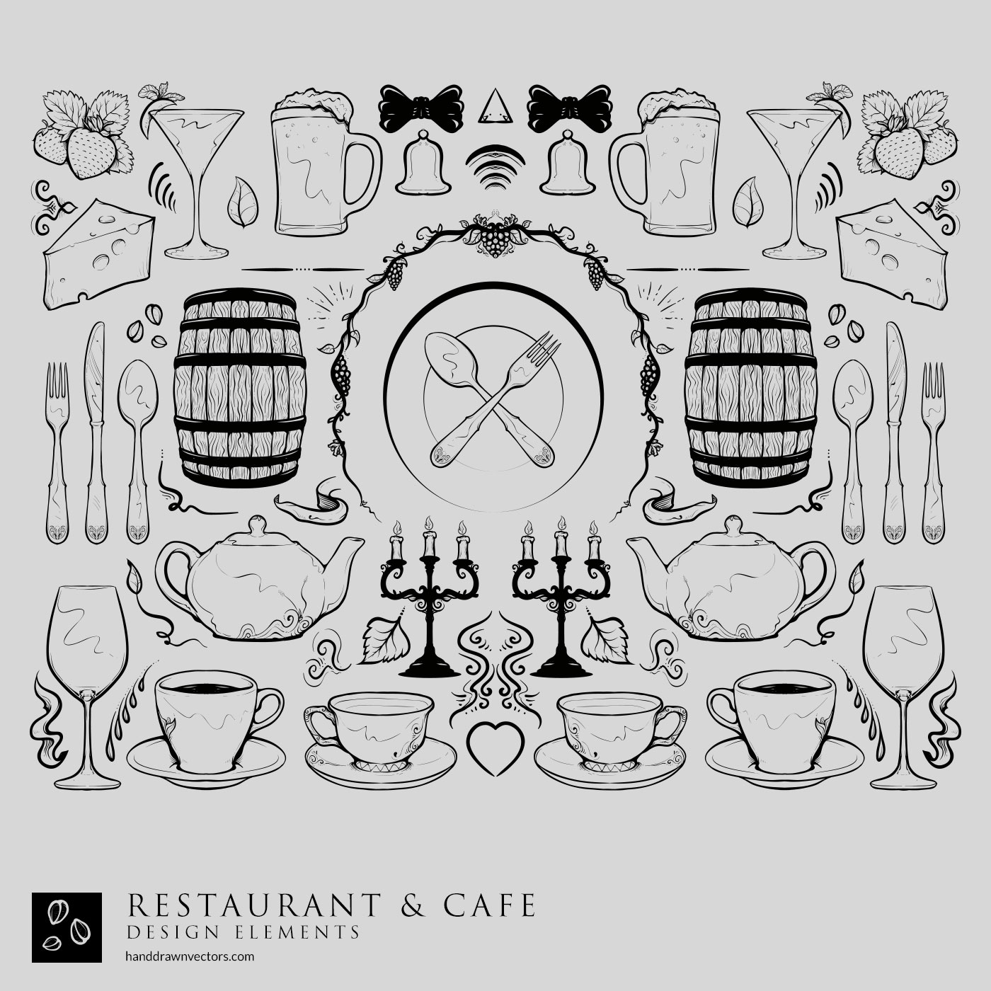 restaurant Collection Vectors