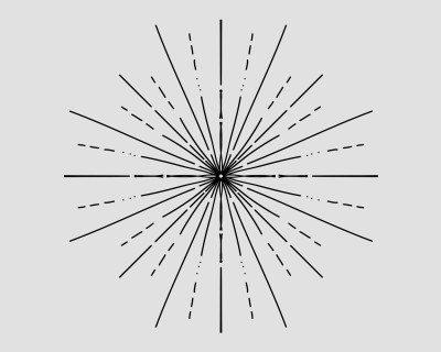 Sunburst Lines Vector