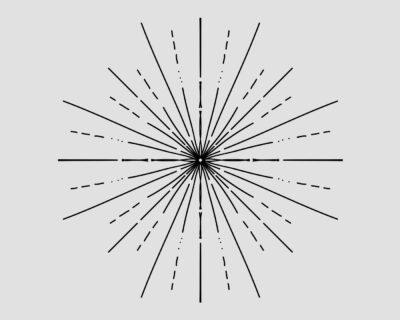 Sunburst Lines Vector