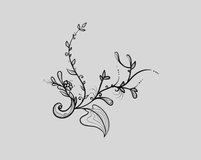 Tree Branch Foliage Vector
