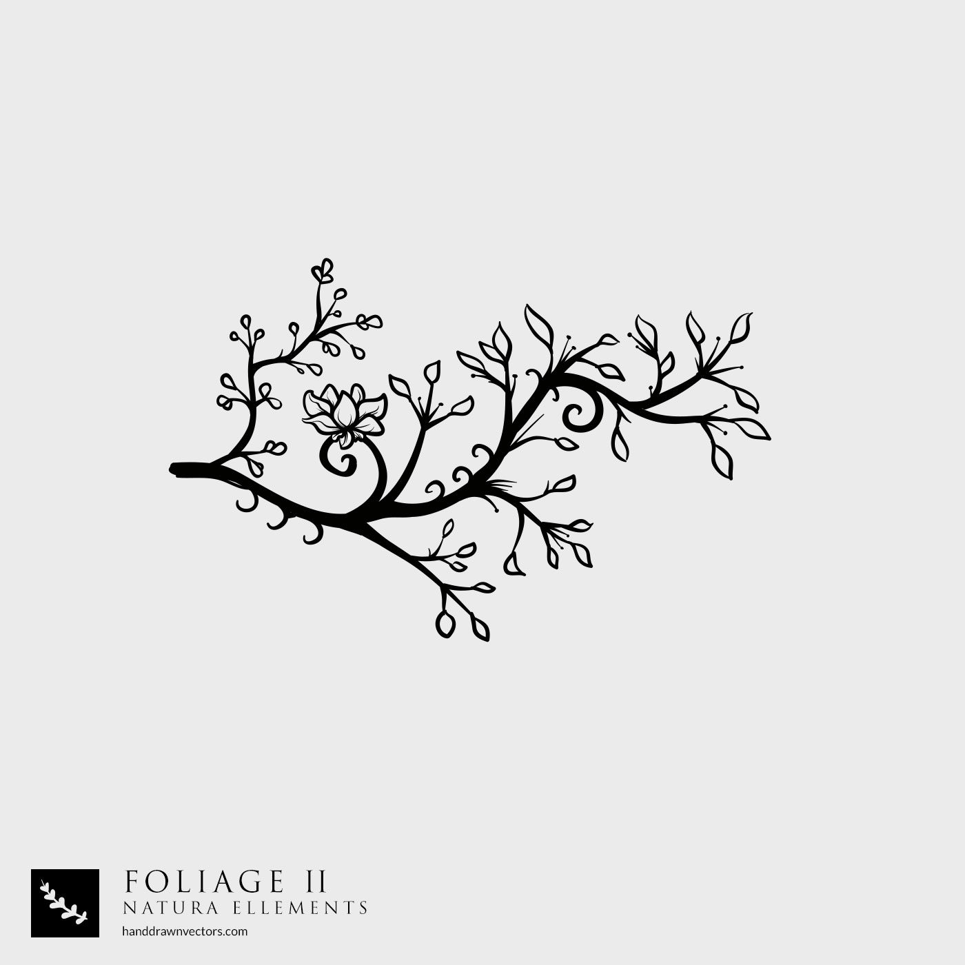 Tree Branch Nature Vector